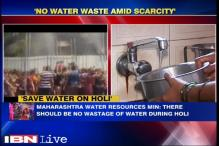 Maharashtra government urges people not to waste water on Holi
