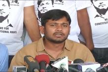 Tension at Vijayawada meet, 'Kanhaiya go back' shout BJP workers