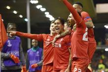 Liverpool beat Manchester United 2-0 in Europa League
