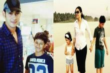 Photos: Mahesh Babu's wife Namrata and kids holiday in Goa