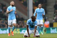 EPL: Manchester City's title hopes dented in 0-0 draw against Norwich