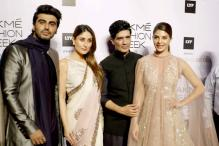 LFW 2016: Arjun Kapoor, Jaqueliene Fernandez walk the ramp for Manish Malhotra's collection 'Elements'