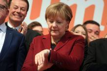 Germany's Merkel in for drubbing as populists eye poll surge