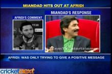 Javed Miandad hits out at Shahid Afridi