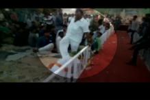 BJP MP Vitthal Radadiya caught on camera 'kicking' elderly man