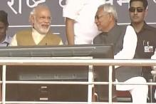 Modi, Nitish bonhomie is reflection of 'Team India': BJP