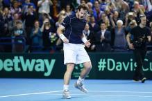 Davis Cup: Andy Murray beats Kei Nishikori as Britain make last-eight