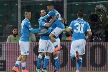 Napoli Eye Last 16 Place and Small Slice of History