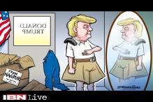 Breaking toon: Donald Trump in RSS uniform