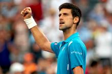 Top-ranked Novak Djokovic battles into Miami Open quarters