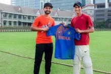 Watch: Ajinkya Rahane surprises Armaan Jaffer with India's new T20 kit