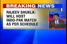 India vs Pakistan in Dharamsala is on, state govt cooperating: Rajiv Shukla
