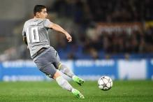 Real Madrid's James Rodriguez fined for police chase