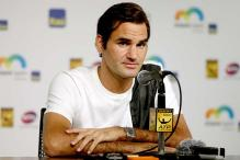 Roger Federer back from knee surgery with low expectations