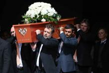 Tributes flow at emotional Martin Crowe funeral