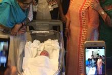 Photo of the day: Salman Khan's family welcome Arpita, Aayush's baby boy Ahil