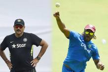 Bring it on - Ravi Shastri tells Chris Gayle
