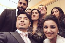Snapshot: Akshay, Parineeti's 'fan' moment with Salma Hayek, Matthew McConaughey