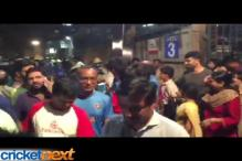 Watch: Bengaluru celebrates India's one-run win over Bangladesh
