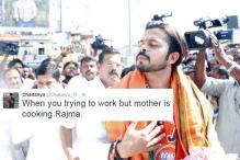 Sreesanth tweeted a photo and Twitter turned it into a hilarious meme