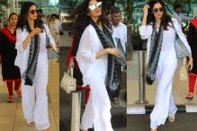 Stunner! Sridevi nails smart-casual chic as she arrives at Mumbai airport