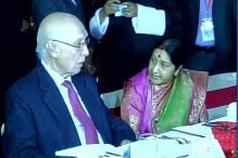 Sushma, Aziz to hold first bilateral talks today since Pathankot terror attacks