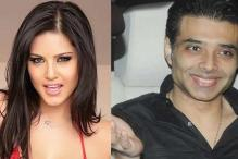Sunny leone, Uday Chopra enter a 'plank off' competition on social media