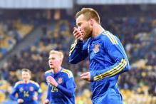 Yarmolenko goal gives Ukraine 1-0 win over Wales in friendly