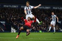 Man United top-four chances fade after loss to West Brom