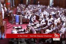 Unruly scenes in Rajya Sabha; Left, TMC in war of words over alleged bribery sting operation