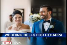 Robin Uthappa ties the knot with Sheethal Goutham
