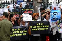Protests in Vietnam as prominent blogger goes on trial