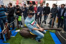 From Quidditch on a flying broomstick to red-light ping-pong: Eye-catching tech at CeBIT