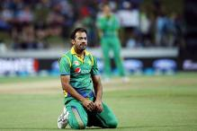 World T20: Wahab Riaz hit by ball during practice, goes for scan