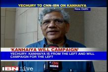 Kanhaiya Kumar will campaign for the Left, says Sitaram Yechury