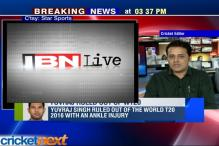 Yuvraj Singh out World T20, Manish Pandey replaces him