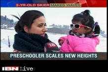 3-year-old skier in Kashmir makes waves