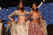 Monica Dogra, Shibani Dandekar turn showstoppers for Payal Singhal at LFW summer-resort 2016 edition