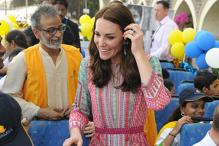Kate Middleton exudes radiance in a printed Anita Dongre creation