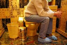 Fully Functional Gold Toilet to Be Installed at US Museum