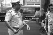 Watch: Top Cop Thrashes a Traffic Violator in Bengaluru
