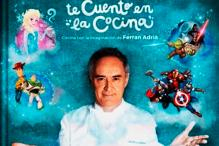 Chef Ferran Adria Creates Disney-inspired Recipes for Kids