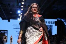 Transgender activist Laxmi Narayan Tripathi turns showstopper at LFW