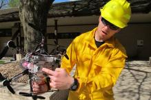 How Drones Could Be the Next Firefighters