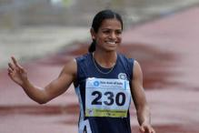 Sprinter Dutee Chand Breaks National record but misses Olympic berth