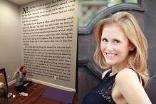 Fangirl Alert! This Woman Painted the First Page of 'Harry Potter' on Her Wall