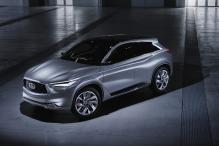 Infiniti Shows Off Its Conceptual Competitor to the Porsche Macan