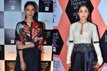 Aditi Rao Hydari to Shriya Saran: Stars dazzle at LFW red carpet