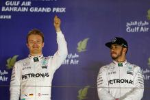 Hamilton Faces Challenge of Stopping Rosberg's Winning Run at Chinese GP