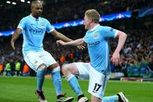 Manchester City Make It To Their Maiden Champions League Semifinals Courtesy De Bruyne's Goal